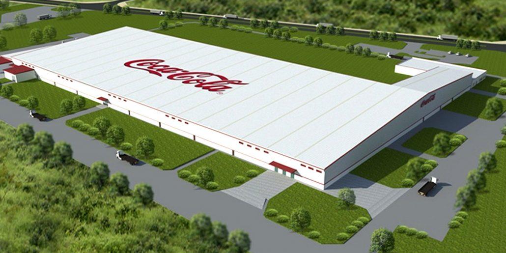 nhà máy Coca Cola