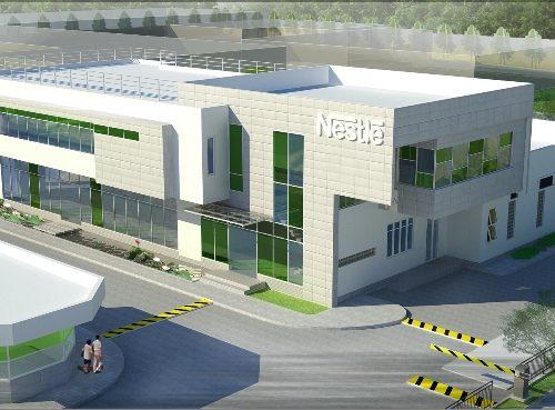 nhà máy Nestle