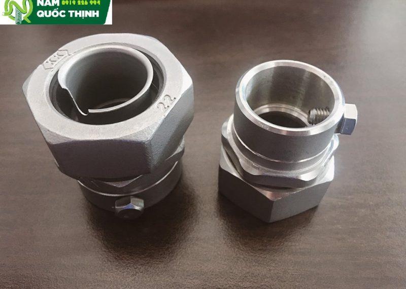 Đầu nối ống thép trơn inox W-LS